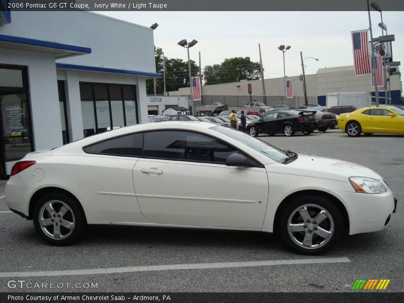 2006 pontiac g6 gt coupe in ivory white photo no 12025060. Black Bedroom Furniture Sets. Home Design Ideas