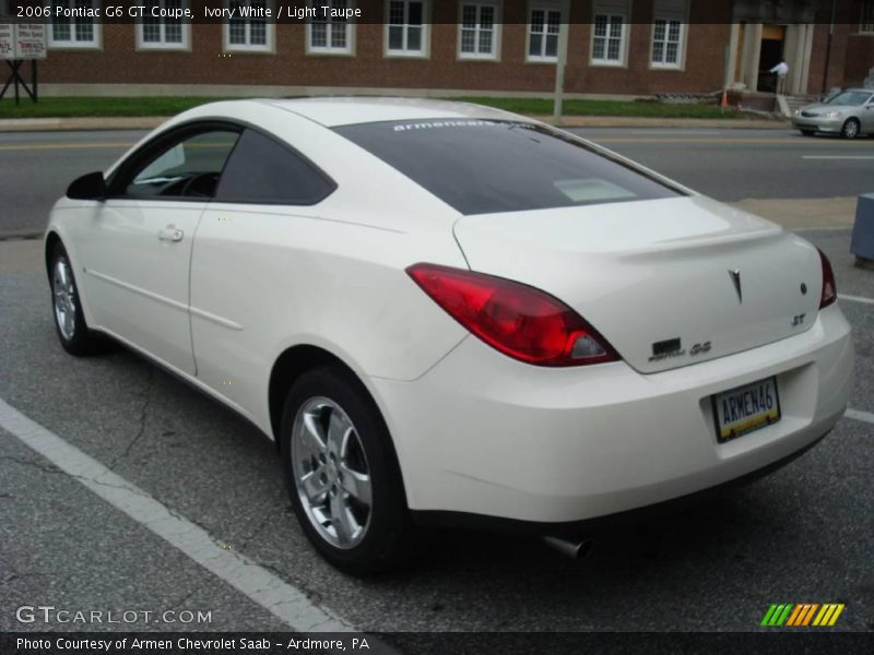 2006 pontiac g6 gt coupe in ivory white photo no 12025100. Black Bedroom Furniture Sets. Home Design Ideas