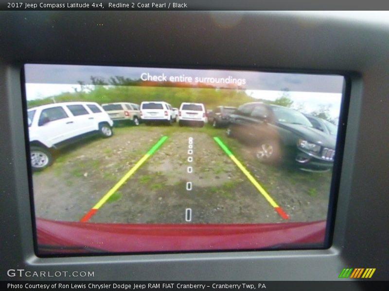 Redline 2 Coat Pearl / Black 2017 Jeep Compass Latitude 4x4