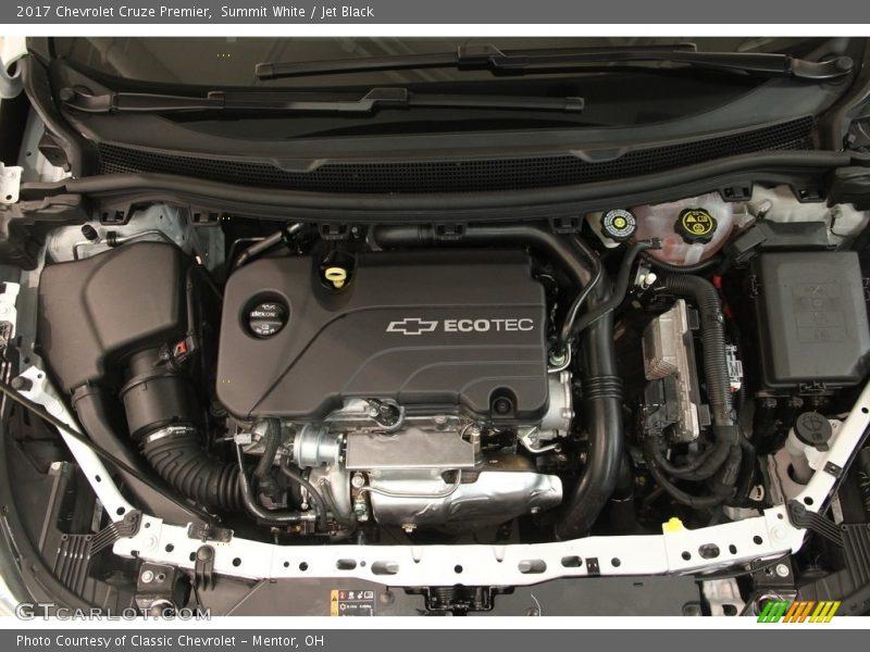 2017 Cruze Premier Engine - 1.4 Liter Turbocharged DOHC 16-Valve CVVT 4 Cylinder