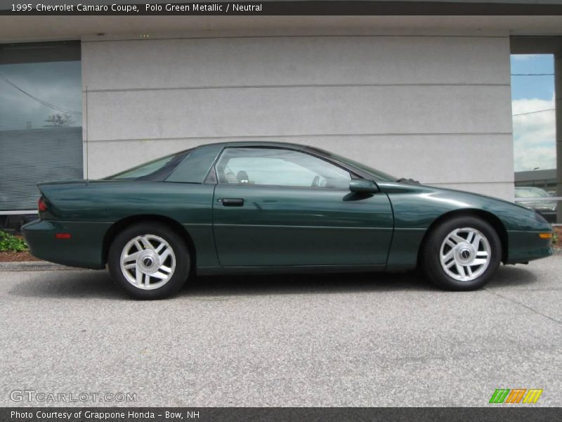 1995 chevrolet camaro coupe in polo green metallic photo. Black Bedroom Furniture Sets. Home Design Ideas
