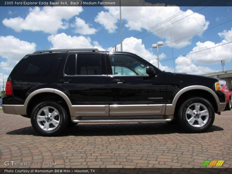 2005 ford explorer eddie bauer 4x4 in black photo no 12065615. Black Bedroom Furniture Sets. Home Design Ideas
