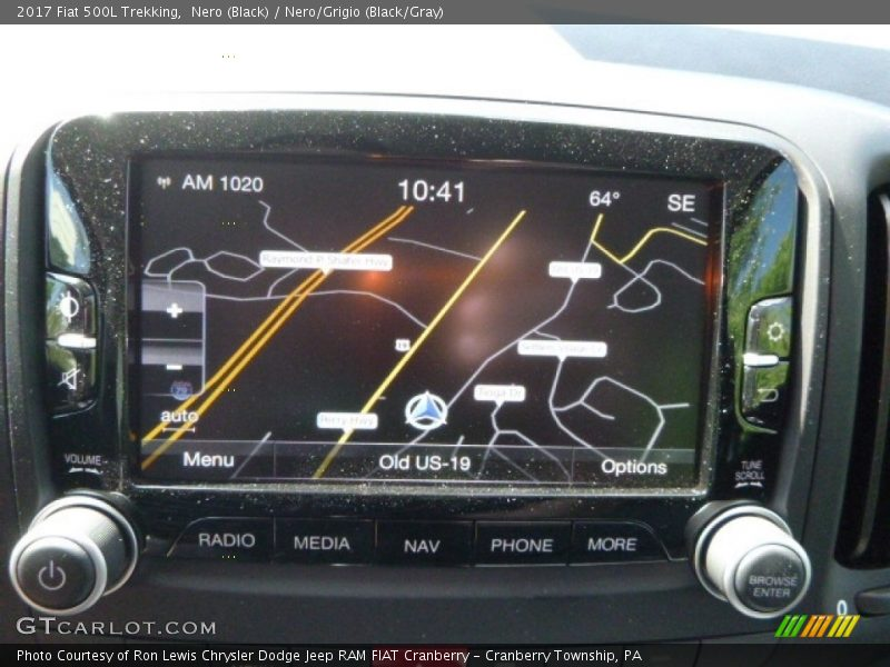 Nero (Black) / Nero/Grigio (Black/Gray) 2017 Fiat 500L Trekking