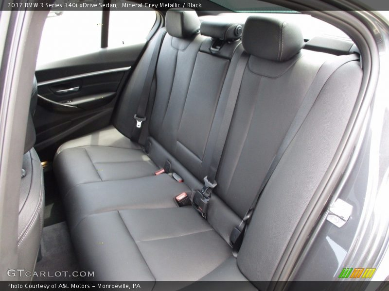 Mineral Grey Metallic / Black 2017 BMW 3 Series 340i xDrive Sedan