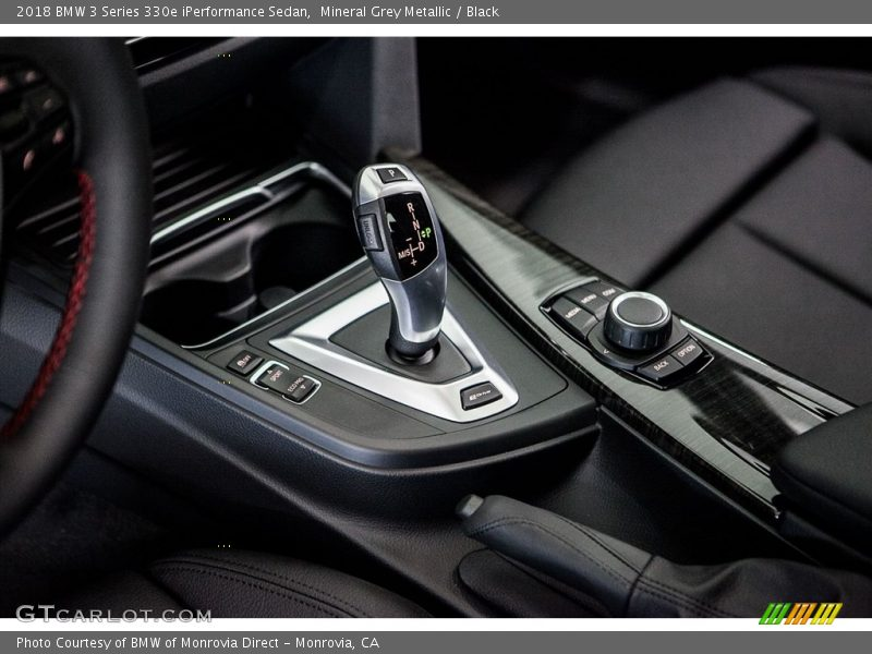 2018 3 Series 330e iPerformance Sedan 8 Speed Sport Automatic Shifter