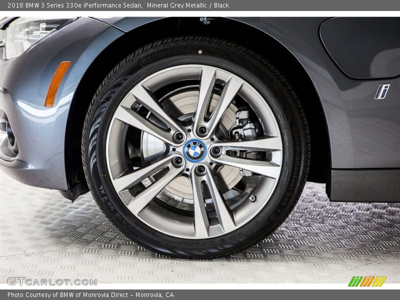 2018 3 Series 330e iPerformance Sedan Wheel