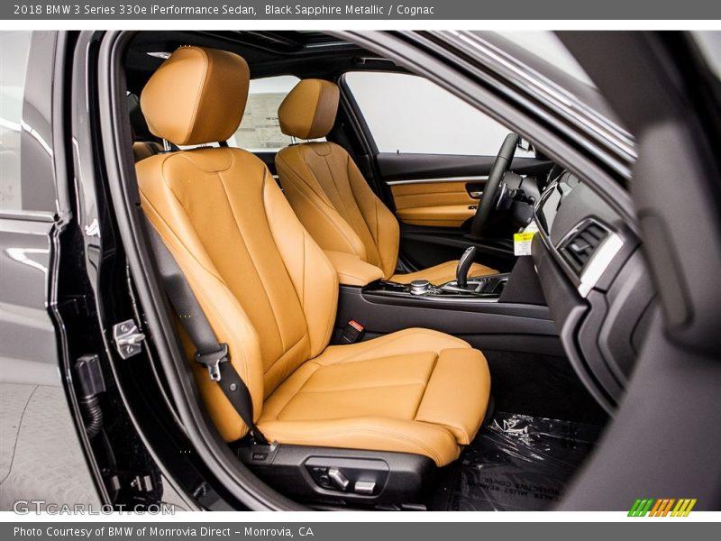 2018 3 Series 330e iPerformance Sedan Cognac Interior