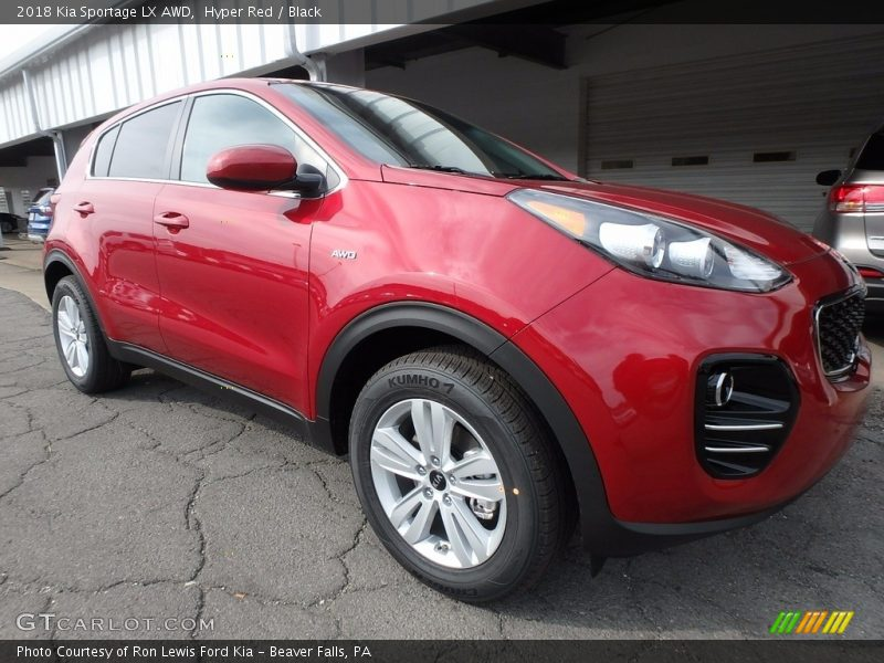Front 3/4 View of 2018 Sportage LX AWD