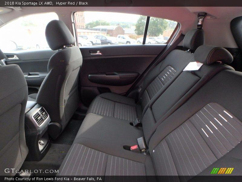 Hyper Red / Black 2018 Kia Sportage LX AWD