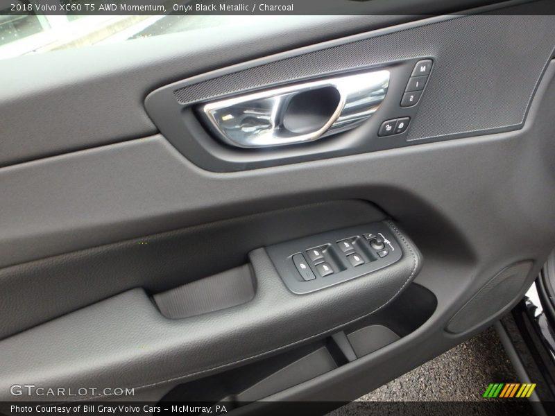 Onyx Black Metallic / Charcoal 2018 Volvo XC60 T5 AWD Momentum