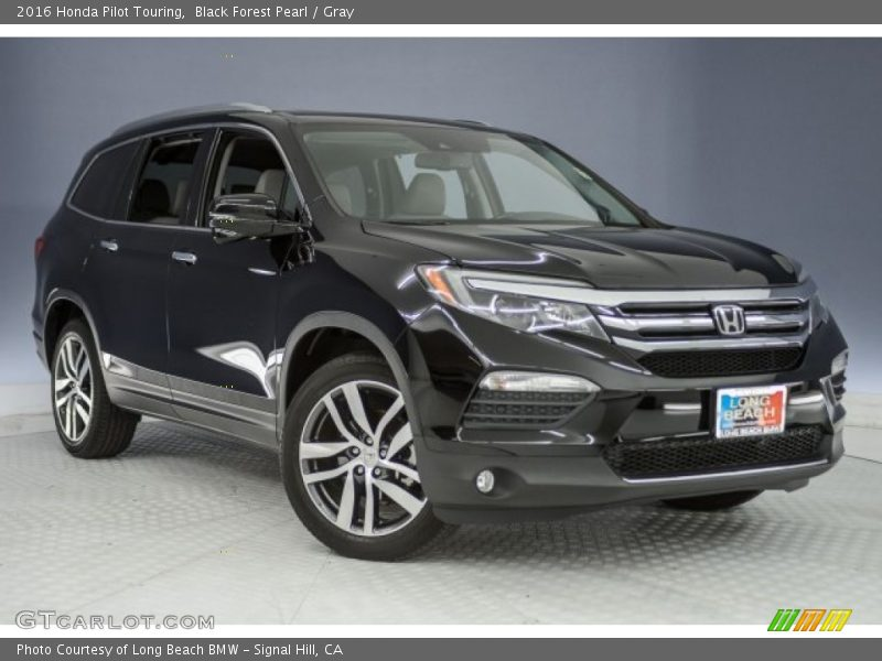 Black Forest Pearl / Gray 2016 Honda Pilot Touring
