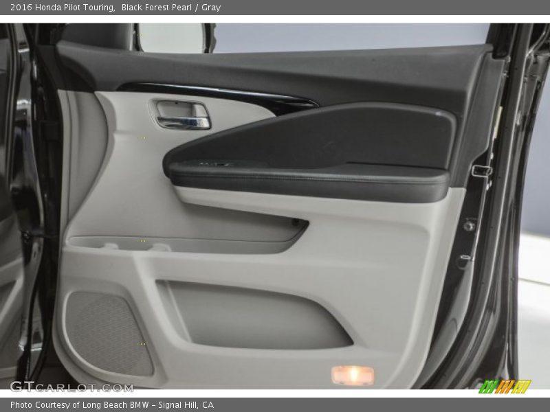 Black Forest Pearl / Gray 2016 Honda Pilot Touring
