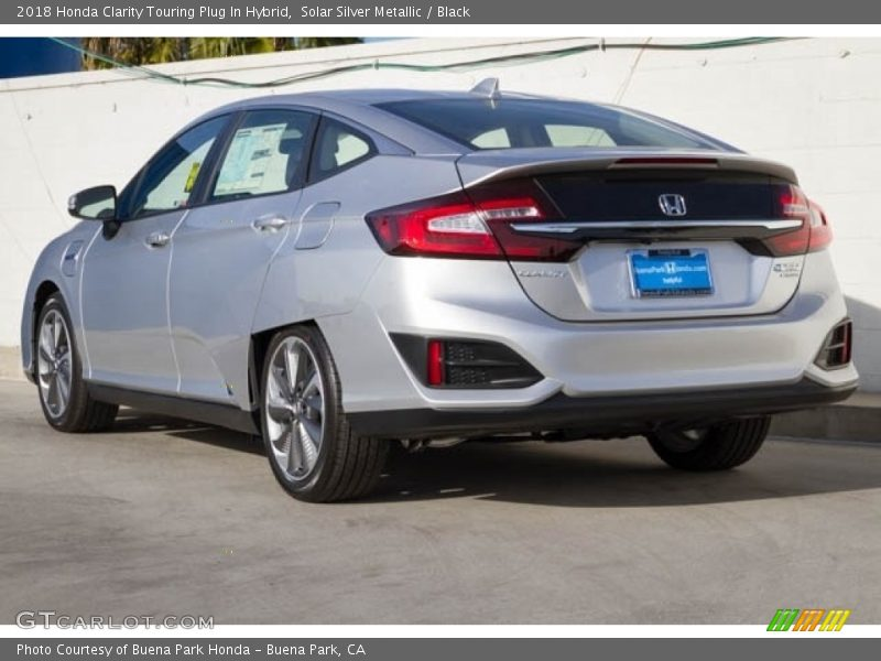 Solar Silver Metallic / Black 2018 Honda Clarity Touring Plug In Hybrid