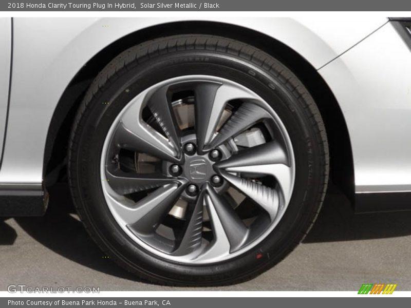 Solar Silver Metallic / Black 2018 Honda Clarity Touring Plug In Hybrid