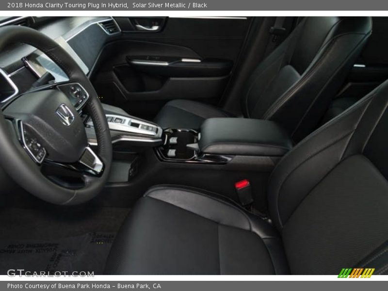 2018 Clarity Touring Plug In Hybrid Black Interior