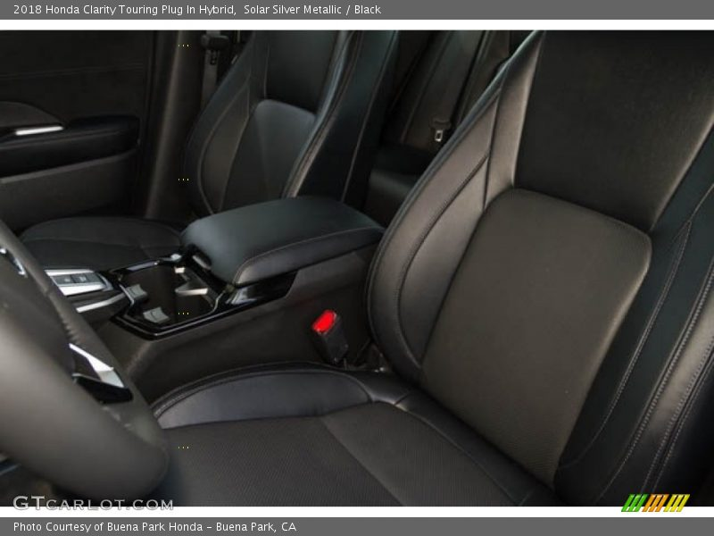 Front Seat of 2018 Clarity Touring Plug In Hybrid