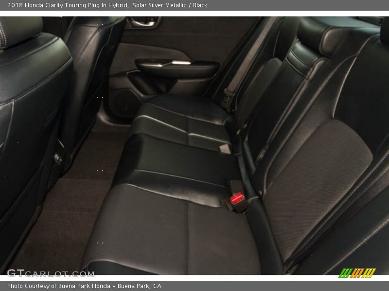 Rear Seat of 2018 Clarity Touring Plug In Hybrid