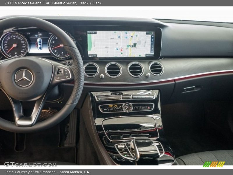 Dashboard of 2018 E 400 4Matic Sedan
