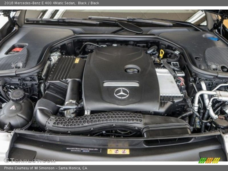 2018 E 400 4Matic Sedan Engine - 3.0 Liter Turbocharged DOHC 24-Valve VVT V6