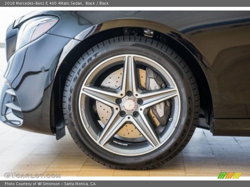 2018 E 400 4Matic Sedan Wheel