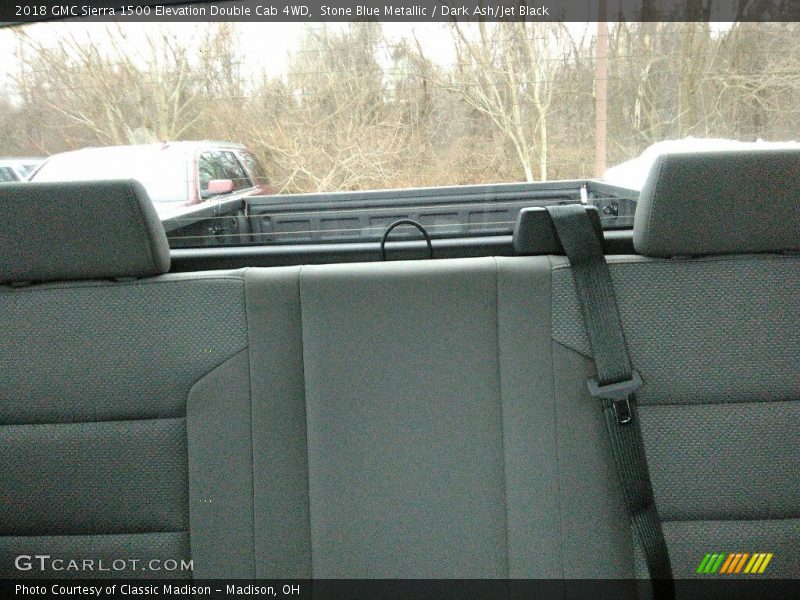 Stone Blue Metallic / Dark Ash/Jet Black 2018 GMC Sierra 1500 Elevation Double Cab 4WD