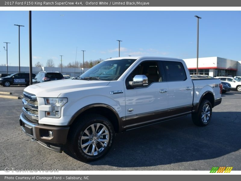 Oxford White / Limited Black/Mojave 2017 Ford F150 King Ranch SuperCrew 4x4
