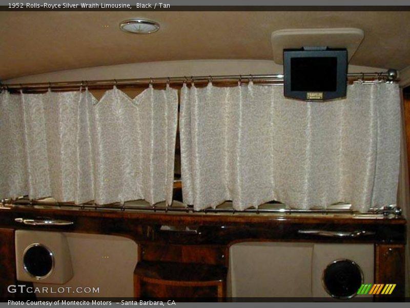 Black / Tan 1952 Rolls-Royce Silver Wraith Limousine