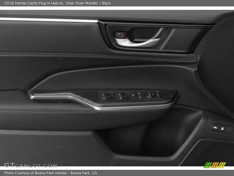 Solar Silver Metallic / Black 2018 Honda Clarity Plug In Hybrid