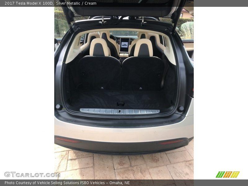 2017 Model X 100D Trunk