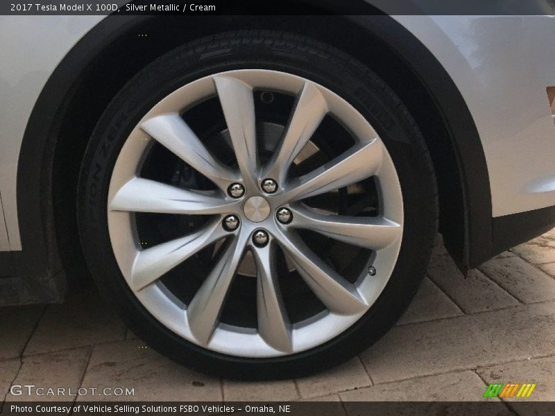 2017 Model X 100D Wheel