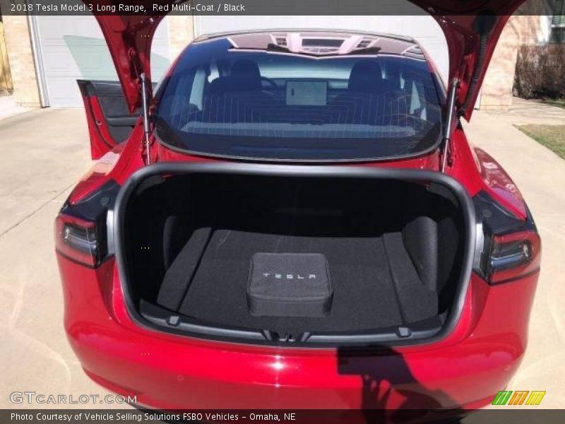 2018 Model 3 Long Range Trunk