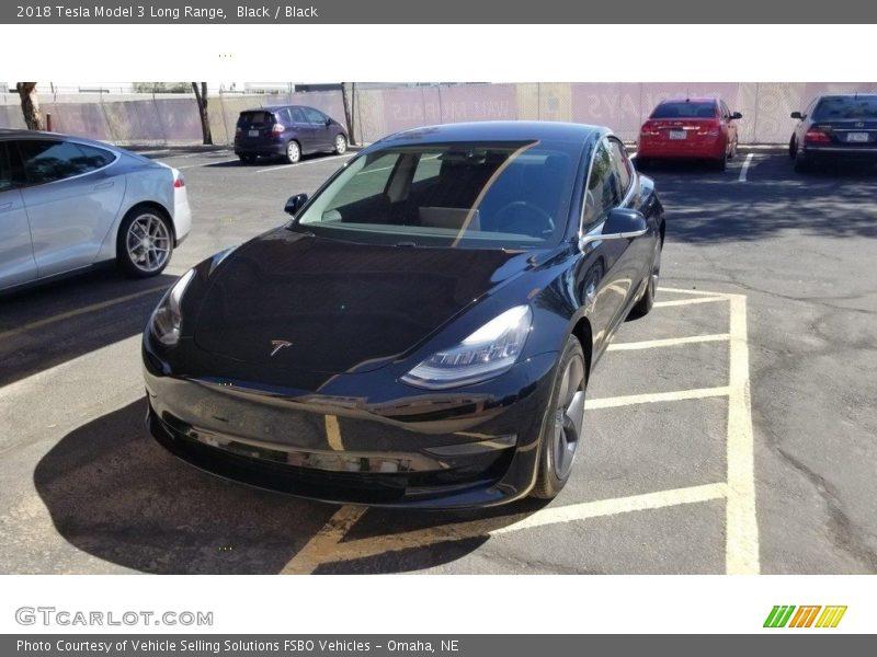 Black / Black 2018 Tesla Model 3 Long Range