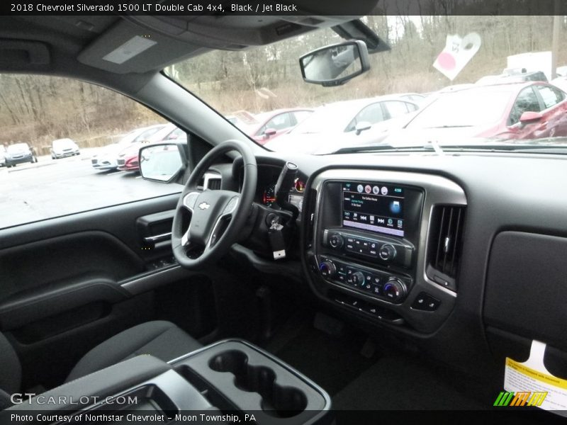 Black / Jet Black 2018 Chevrolet Silverado 1500 LT Double Cab 4x4