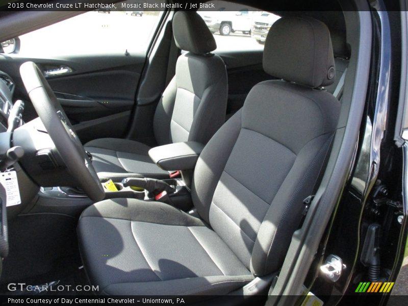 Front Seat of 2018 Cruze LT Hatchback