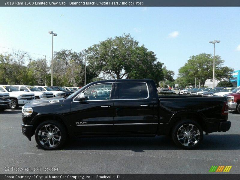 Diamond Black Crystal Pearl / Indigo/Frost 2019 Ram 1500 Limited Crew Cab