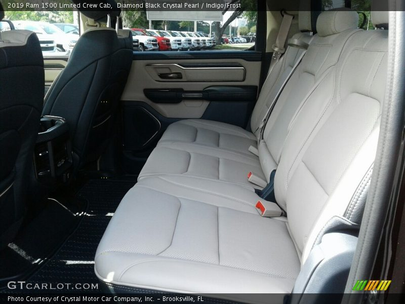 Rear Seat of 2019 1500 Limited Crew Cab