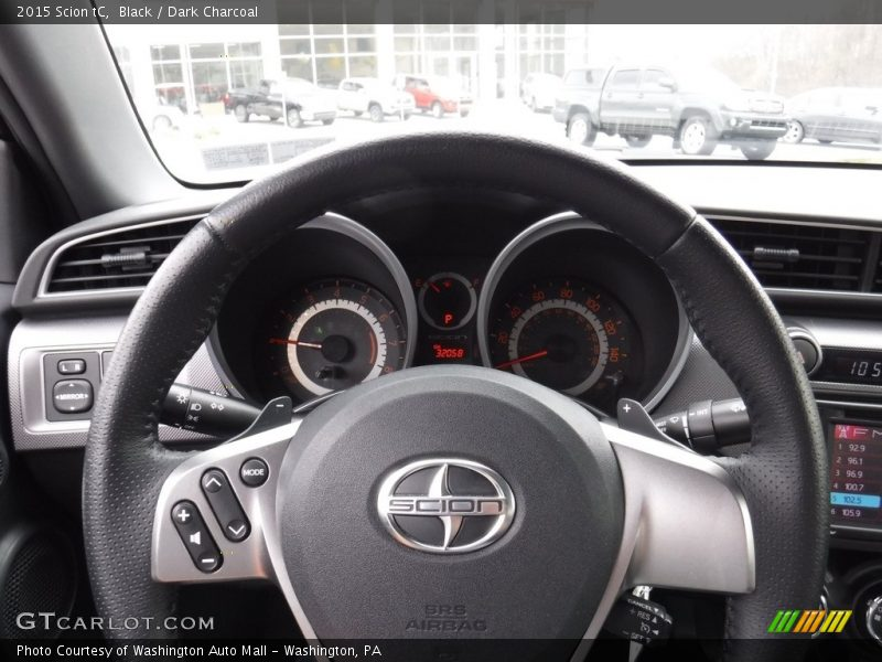 Black / Dark Charcoal 2015 Scion tC