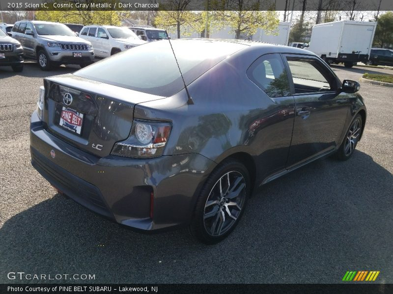 Cosmic Gray Metallic / Dark Charcoal 2015 Scion tC