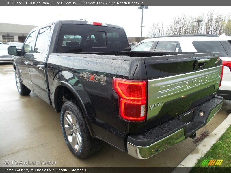 Shadow Black / King Ranch Kingsville 2018 Ford F150 King Ranch SuperCrew 4x4