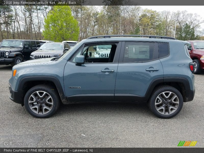 2018 Renegade Latitude 4x4 Anvil