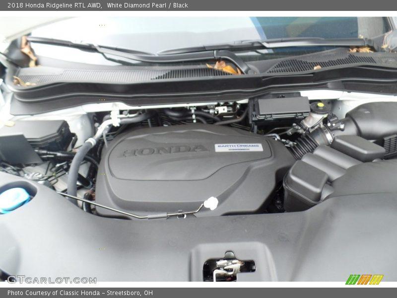 2018 Ridgeline RTL AWD Engine - 3.5 Liter VCM SOHC 24-Valve i-VTEC V6