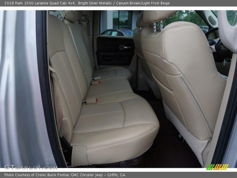 Rear Seat of 2018 1500 Laramie Quad Cab 4x4
