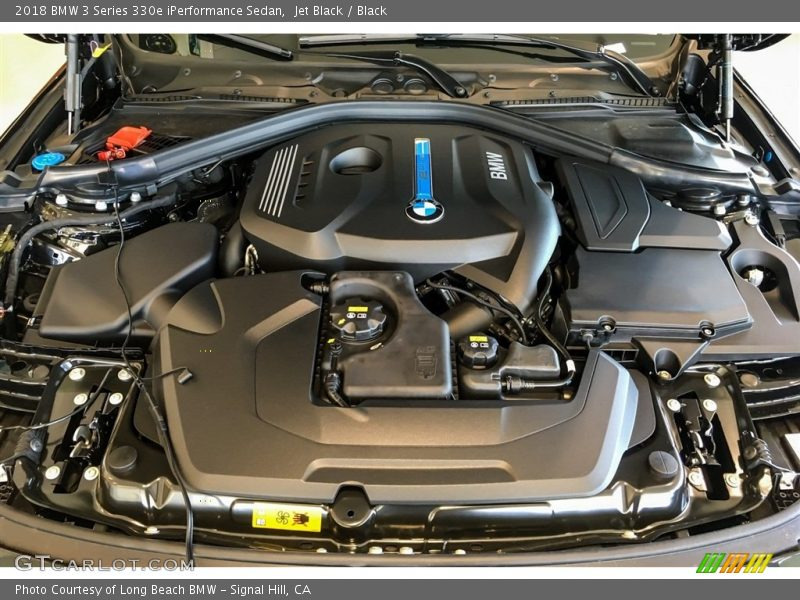 2018 3 Series 330e iPerformance Sedan Engine - 2.0 Liter e DI TwinPower Turbocharged DOHC 16-Valve VVT 4 Cylinder Gasoline/Plug-in Electric Hybrid
