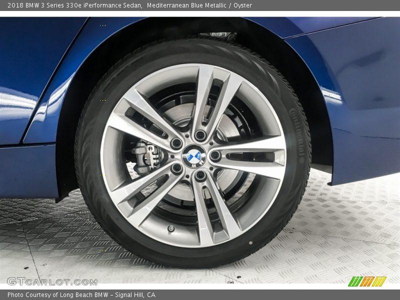 2018 3 Series 330e iPerformance Sedan Wheel