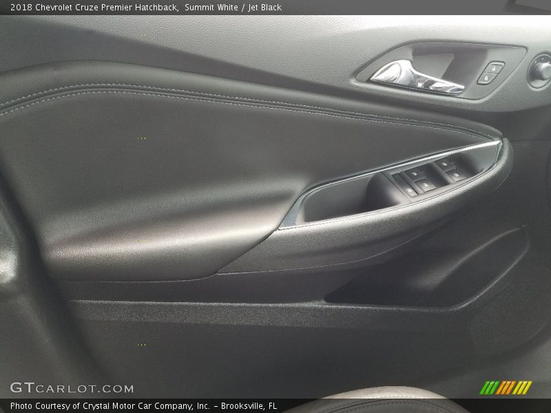 Summit White / Jet Black 2018 Chevrolet Cruze Premier Hatchback