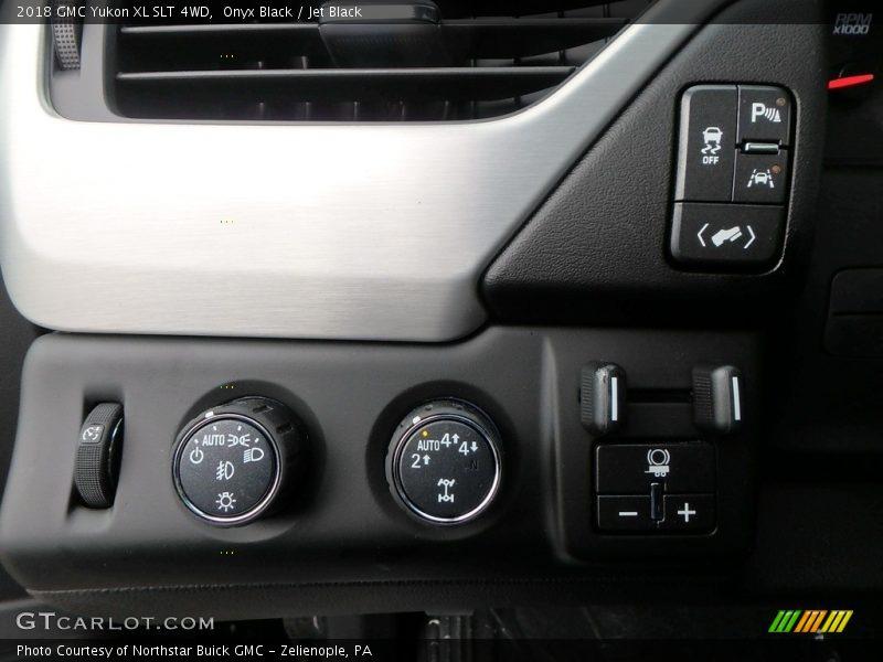 Onyx Black / Jet Black 2018 GMC Yukon XL SLT 4WD