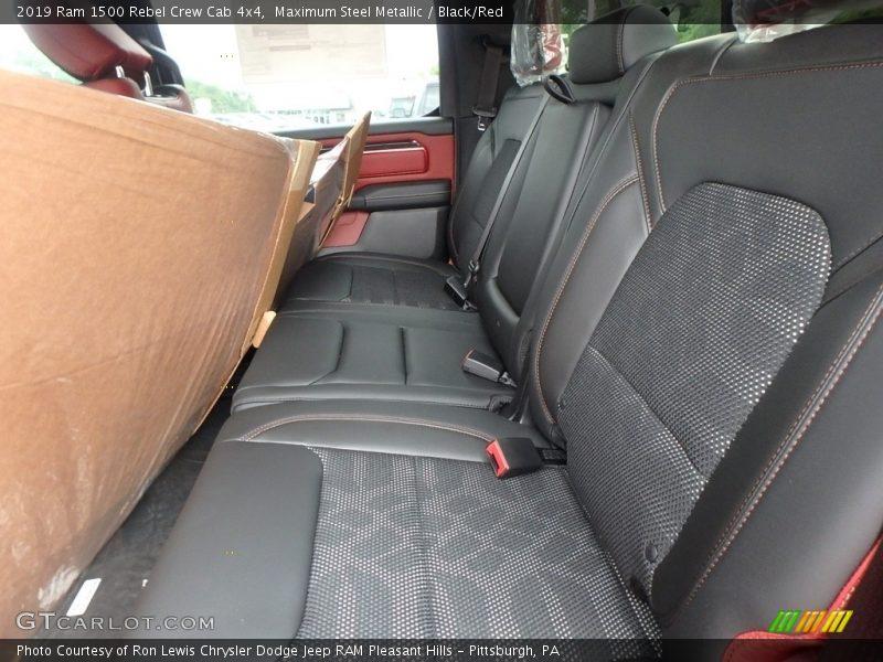 Rear Seat of 2019 1500 Rebel Crew Cab 4x4