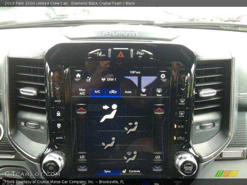 Controls of 2019 1500 Limited Crew Cab