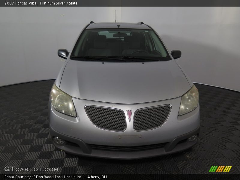 Platinum Silver / Slate 2007 Pontiac Vibe