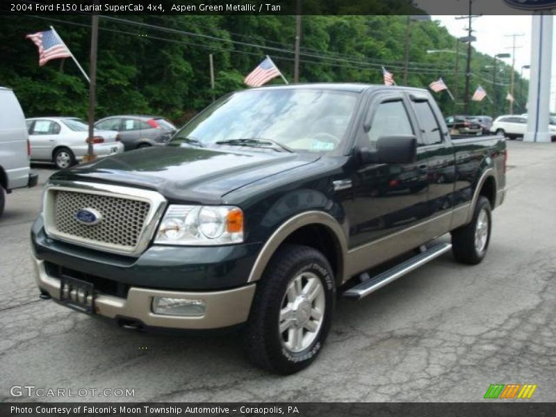 2004 ford f150 lariat supercab 4x4 in aspen green metallic. Black Bedroom Furniture Sets. Home Design Ideas